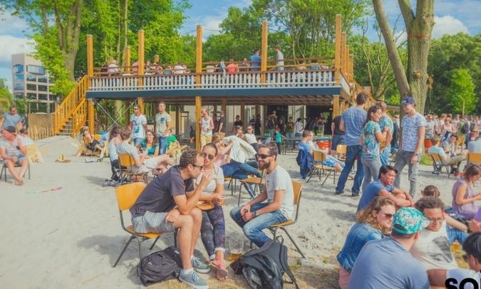 stradsstrand Soia, Oog in al, Utrecht