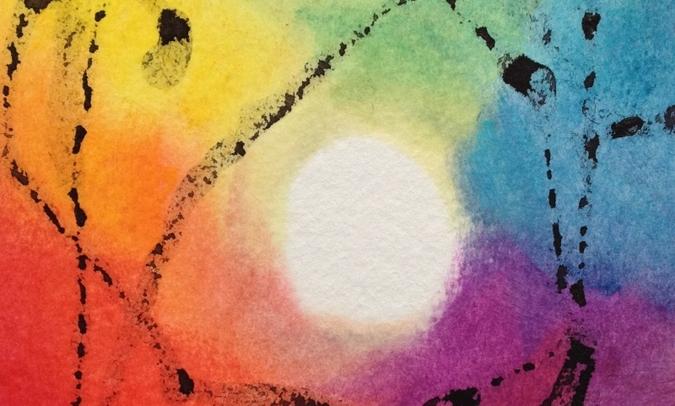 kunst en lisa, intuïtief schilderen op muziek
