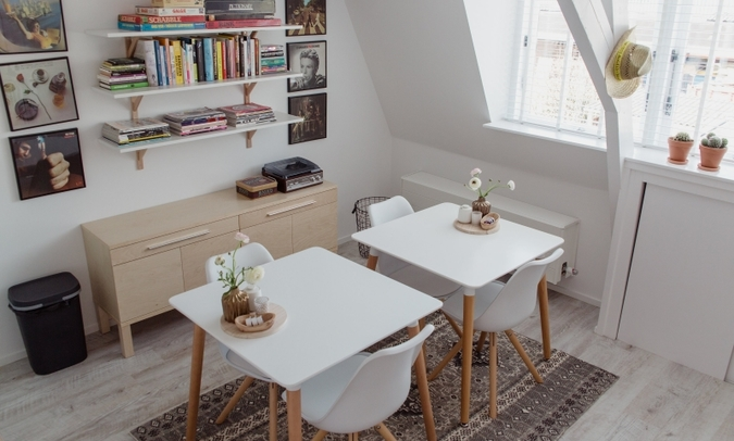 studio de bilt, breakfastroom/kitchen/living